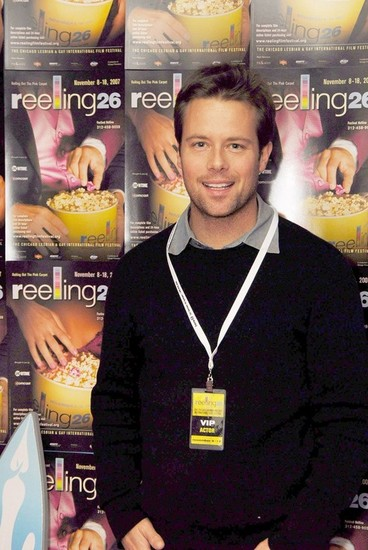 Actor Brad Rowe attended the Reeling Opening Reception