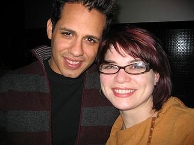 Charlie and Sara at Sidetrack