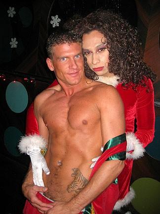 Chris and Sauci Bernaise at Naugh-T