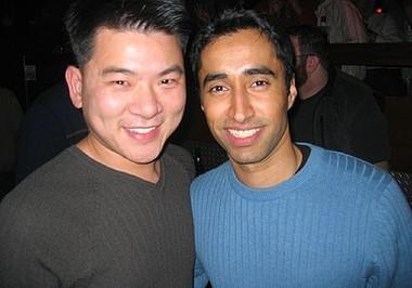 Dan and Shaman at Sidetrack