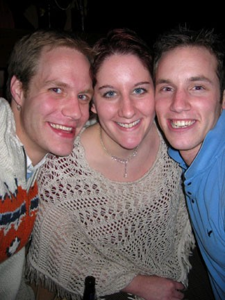 Joe, Jeva and Sean at Sidetrack