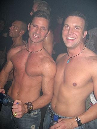 Lloyd and David at Hydrate