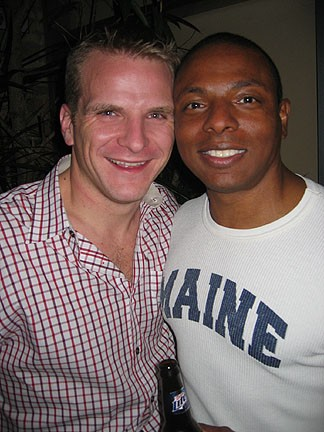 Ray and Victor at Sidetrack