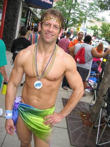 Jeff at the Parade