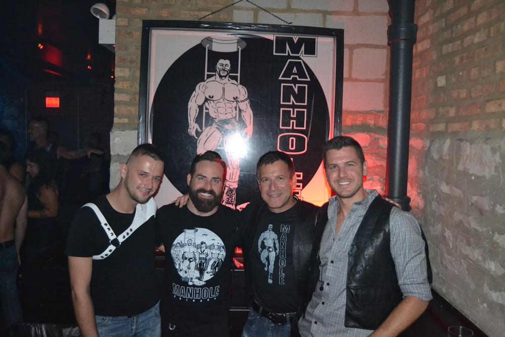 Sean Kotwa, AK Miller, Mark Liberson and Tyler Rathje