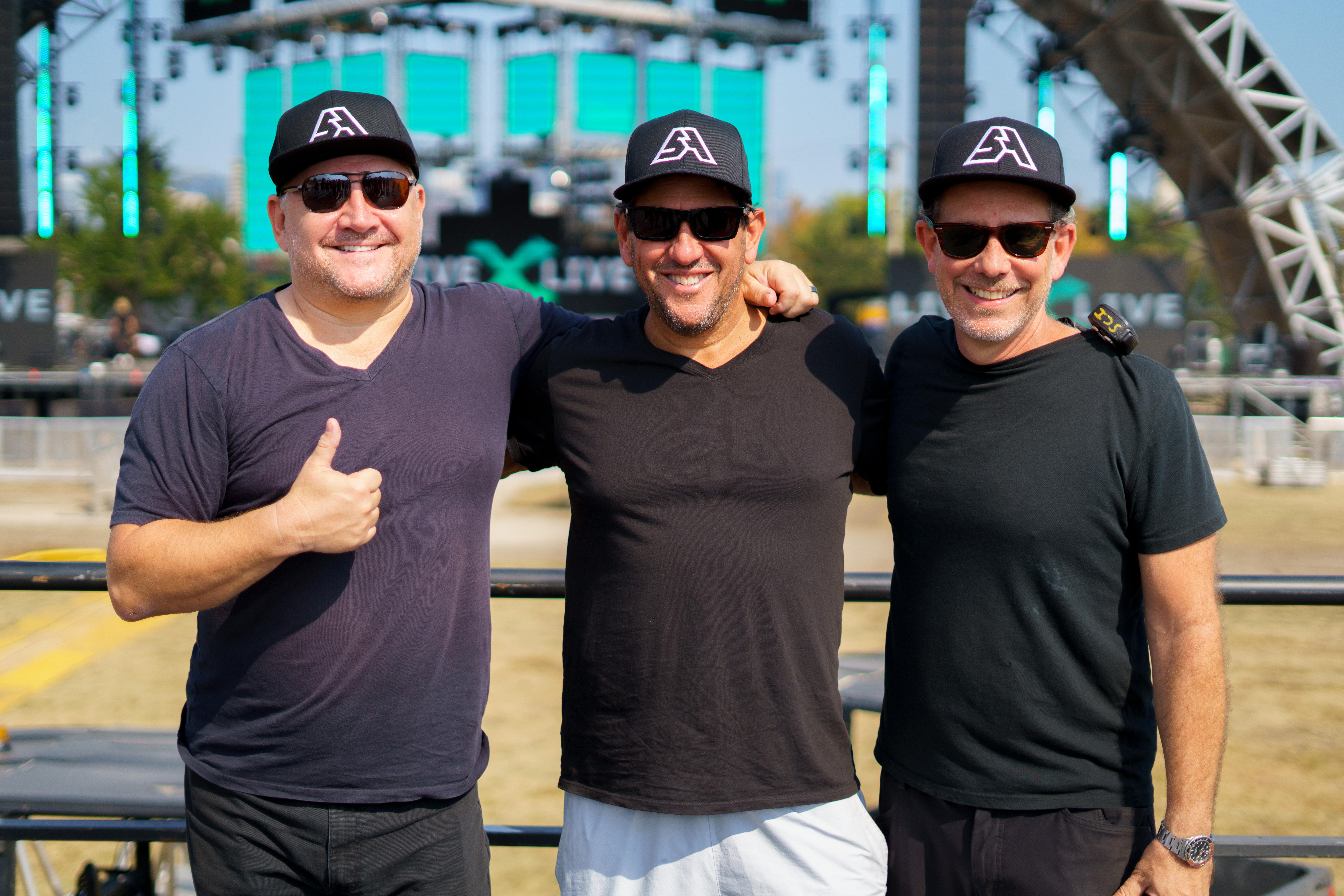 Dermot McCormack, Rob Ellin, and Sig Greenebaum - Steven Koch