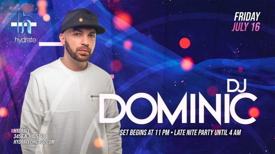 Social House Friday with DJ Dominic
