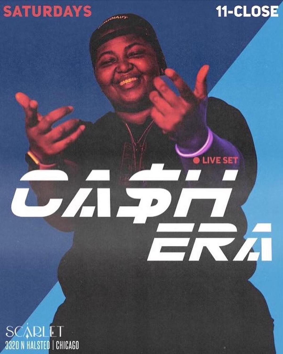 DJ Cashera at Scarlet