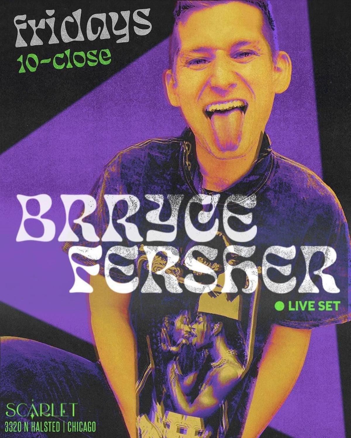 DJ Brryce Fersher at Scarlet