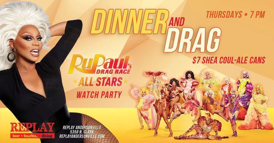 Dinner & Drag: RuPaul's Drag Race All Stars 6 Watch Party