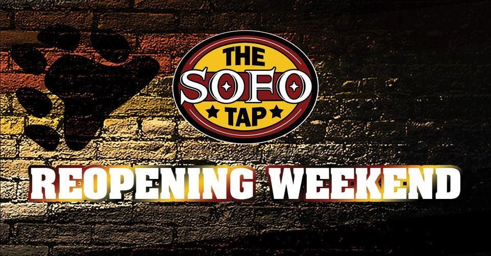 The SoFo Tap's Reopening Weekend (POSTPONED)