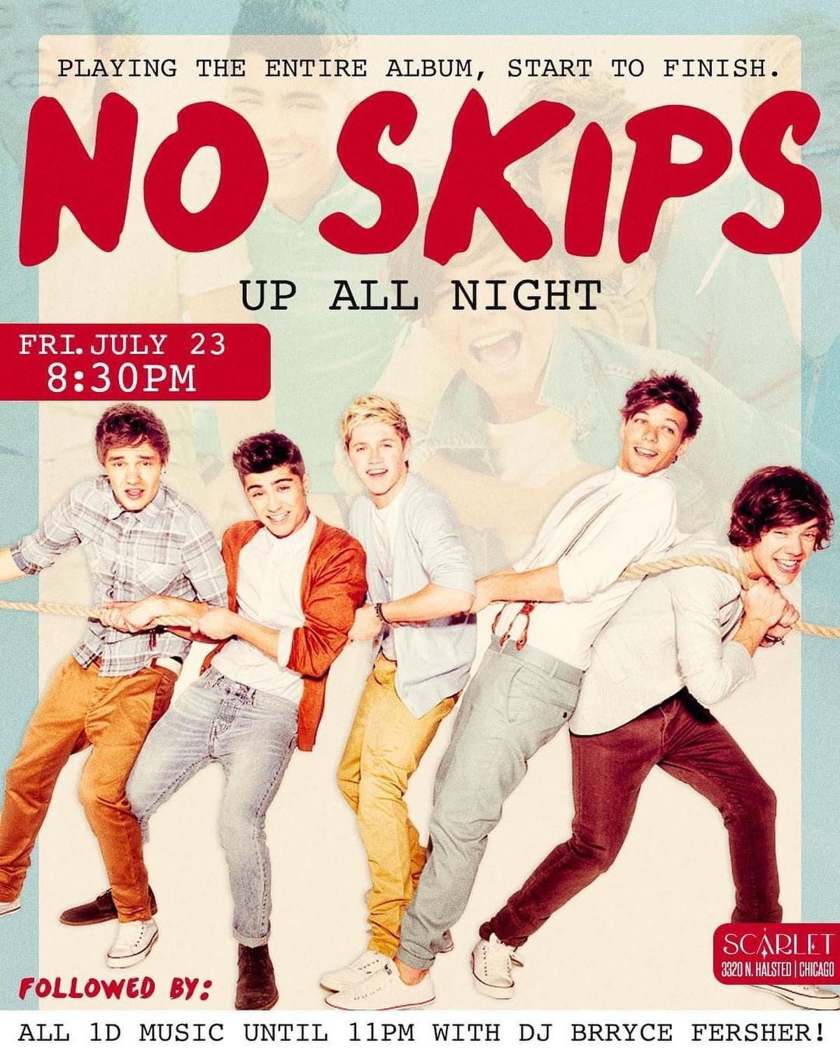 No Skips: 'Up All Night' by One Direction