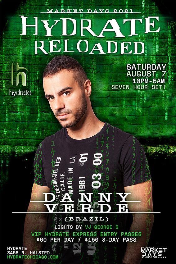 Hydrate Reloaded: DJ Danny Verde