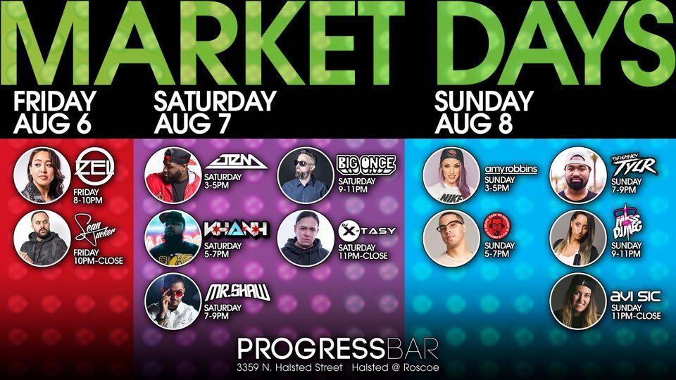 Progress Market Days