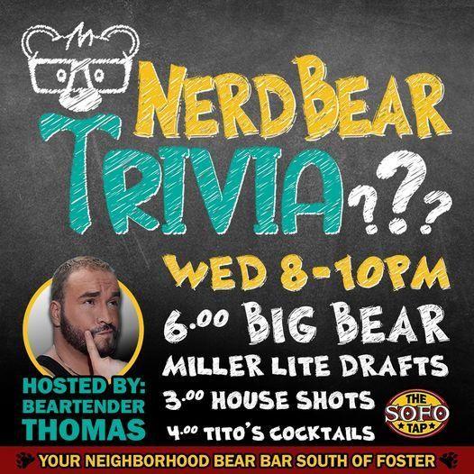 Nerd Bear Trivia
