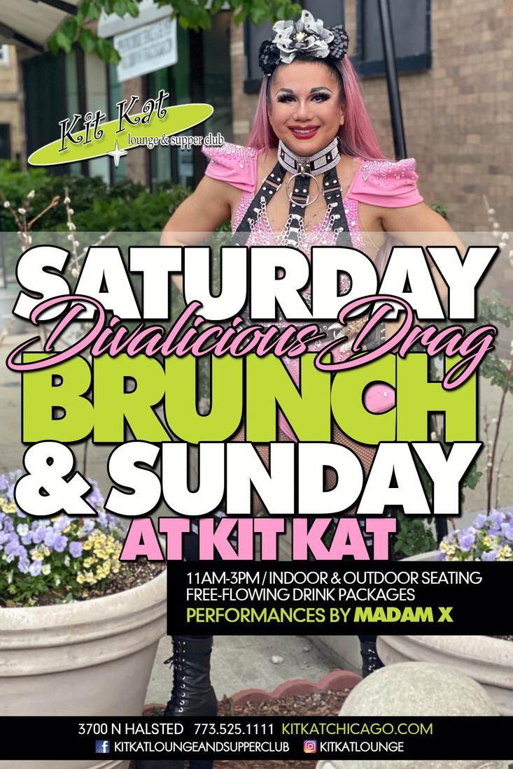Divalicious Drag Brunch (Saturday)