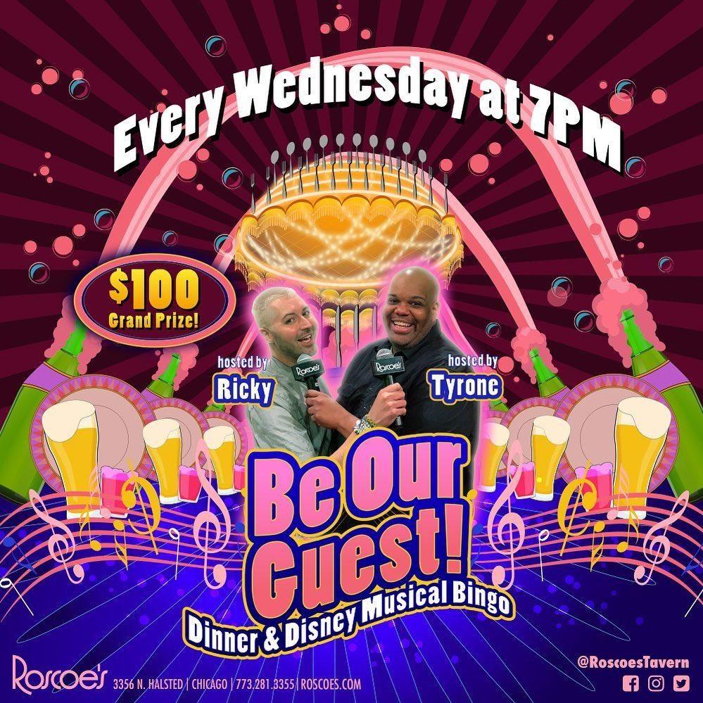 Roscoe's Dinner & Disney Musical Bingo