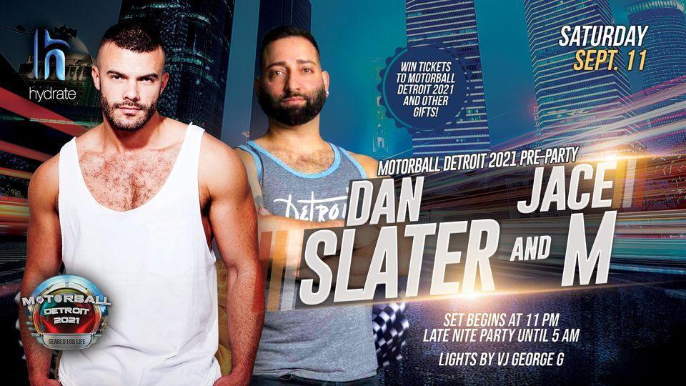 Motorball Detroit 2021 PreParty ft. Dan Slater and Jace M