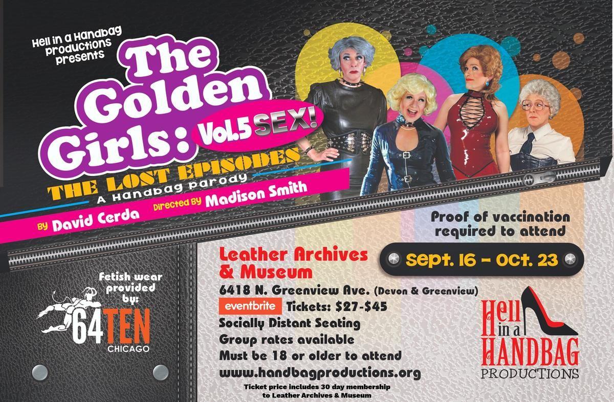 The Golden Girls: The Lost Episodes, Vol. 5- SEX! A Handbag Parody
