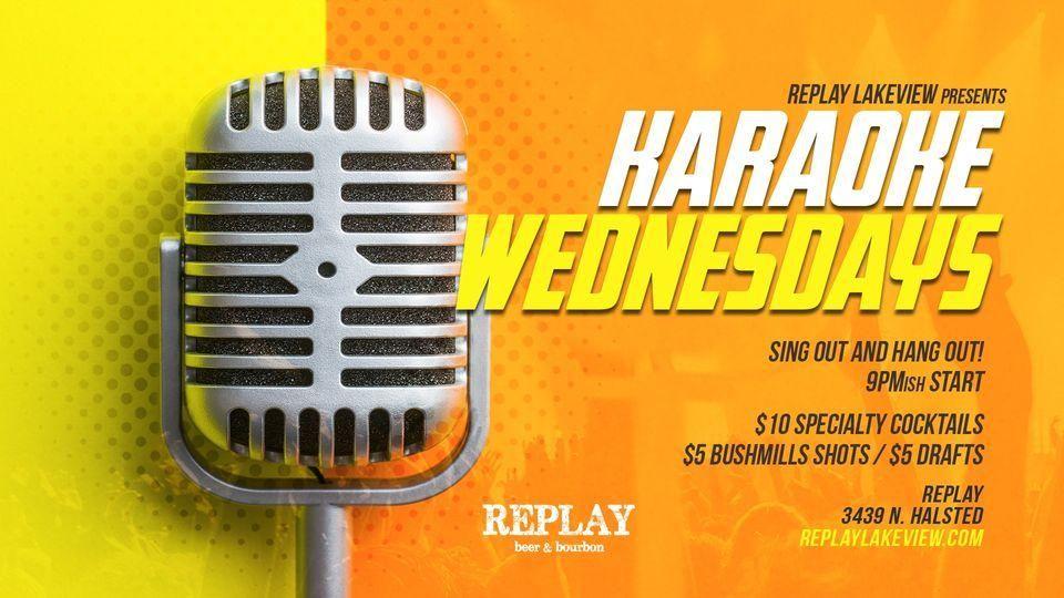 Karaoke Wednesdays