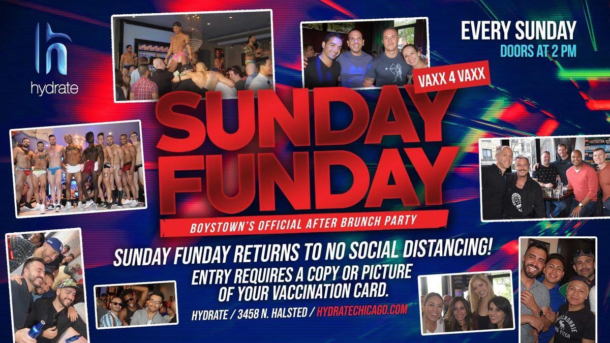 Sunday Funday at Hydrate Nightclub