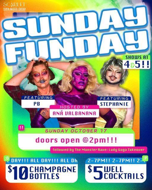 Sunday Funday at Scarlet